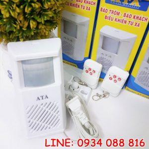 Báo trộm báo khách có remote ATA AT229 1R