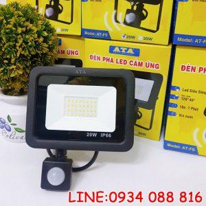 Đèn pha led cảm ứng chống trộm ATA AT-FS 20W 30W 50W
