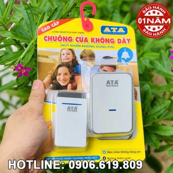 Chuông cửa cao cấp không dùng pin ATA AT 915M