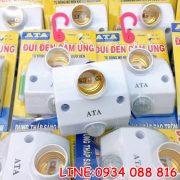 Đui đèn cảm ứng ATA AT-18A New