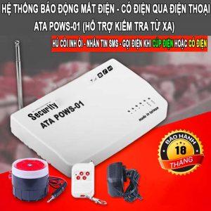 Thiết bị báo mất điện qua điện thoại bằng tin nhắn ATA POWS01