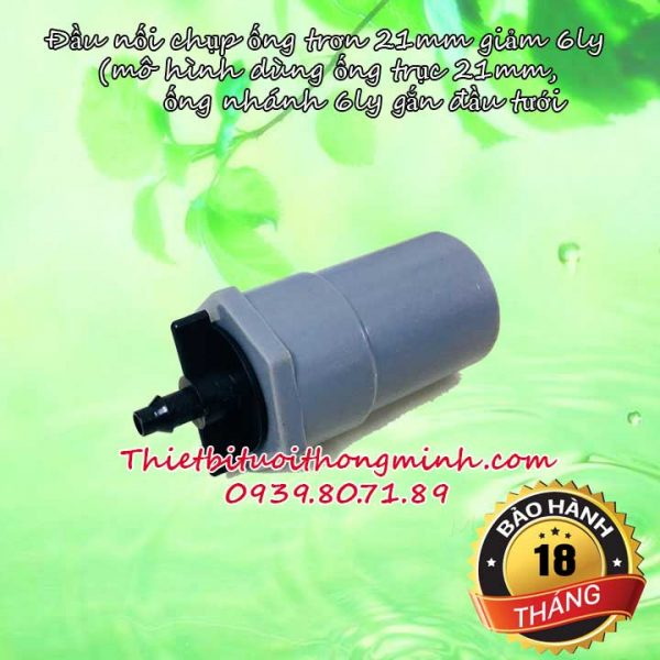 Nối 21mm giảm ống 6ly Florain