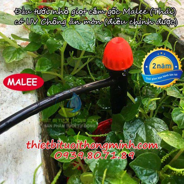 Đầu tưới nhỏ giọt cao cấp cây cắm gốc điều chỉnh thái lan malee