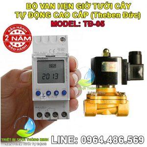 Mua bán bộ timer hẹn giờ tưới cây tự động van điện từ cao cấp TĐ-03