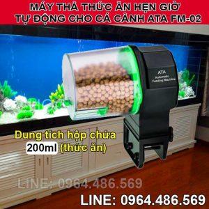 Thiết bị hẹn giờ cho cá cảnh ăn mini tự động ATA FM-02