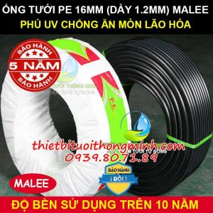 Ống pe 16ly Malee