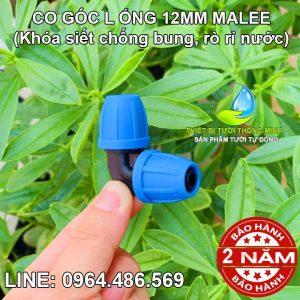 Co góc L 90 nối ống 10ly Malee