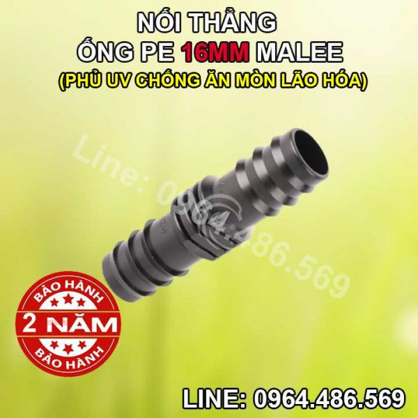 Nối thẳng ống 16ly Malee