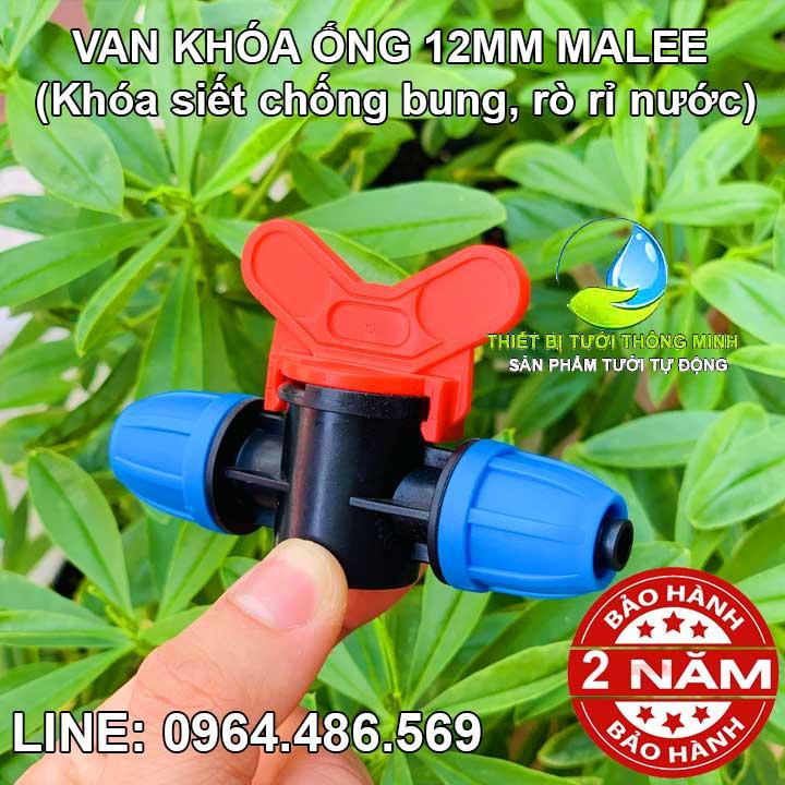 Van khóa ống 10ly Malee